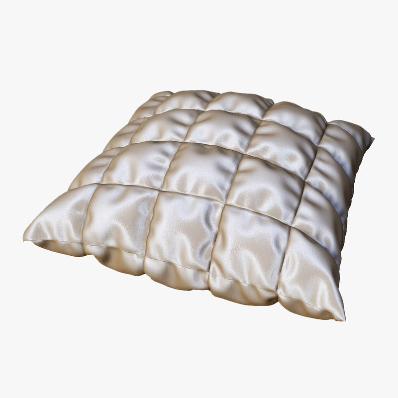 3d decorative pillow