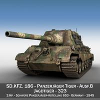 c4d sd kfz 186 -