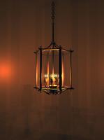 Classic Octogonal Lamp
