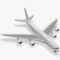 3d model airbus a380-800 a380