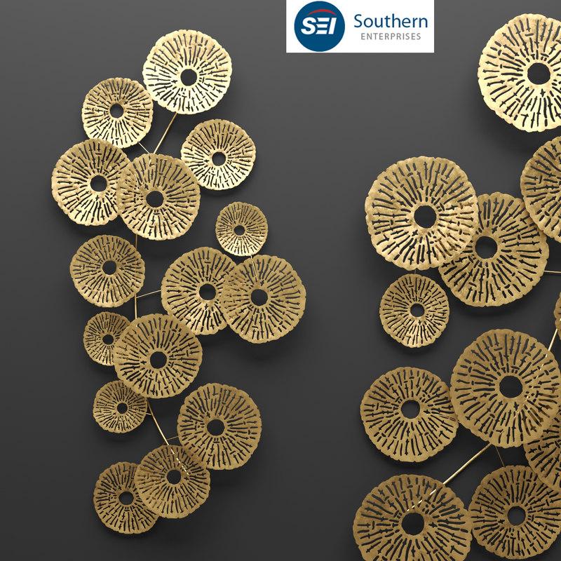 southern enterprises aura abstract 3d max
