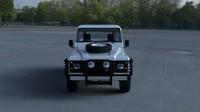 land rover defender 90 obj