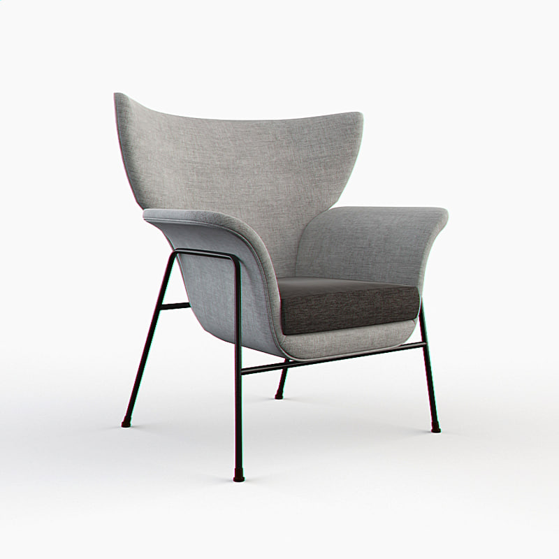 - office armchair 3d max