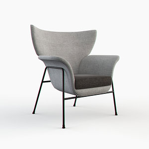 - office armchair 3d max