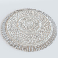3d model carpet hand