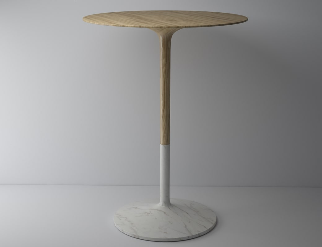 marble icona table 3d model