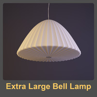 3d model nelson extra large lamp