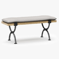 barry arteriors atlas bench obj