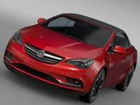 3d model of vauxhall cascada 2016