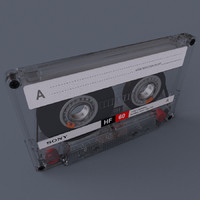 Hi Res Music Tape Casette with Box