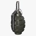 f1 grenade 3D models