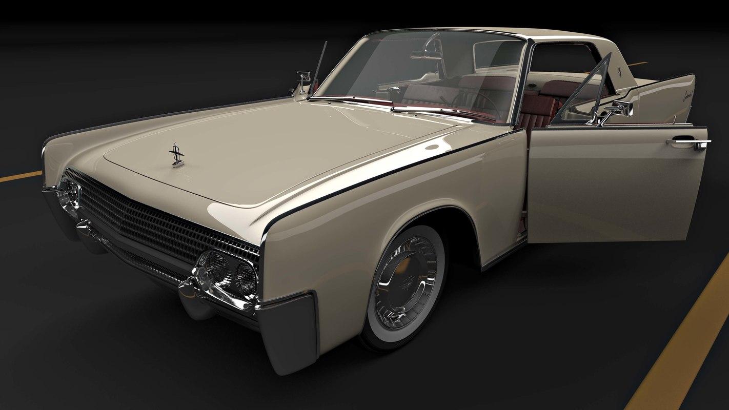 c4d continental 1961