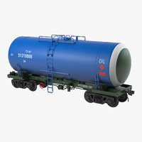 Railroad Oil Tank
