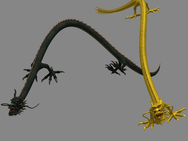 0bbc81d8a Chinese Dragon 3D Models for Download   TurboSquid