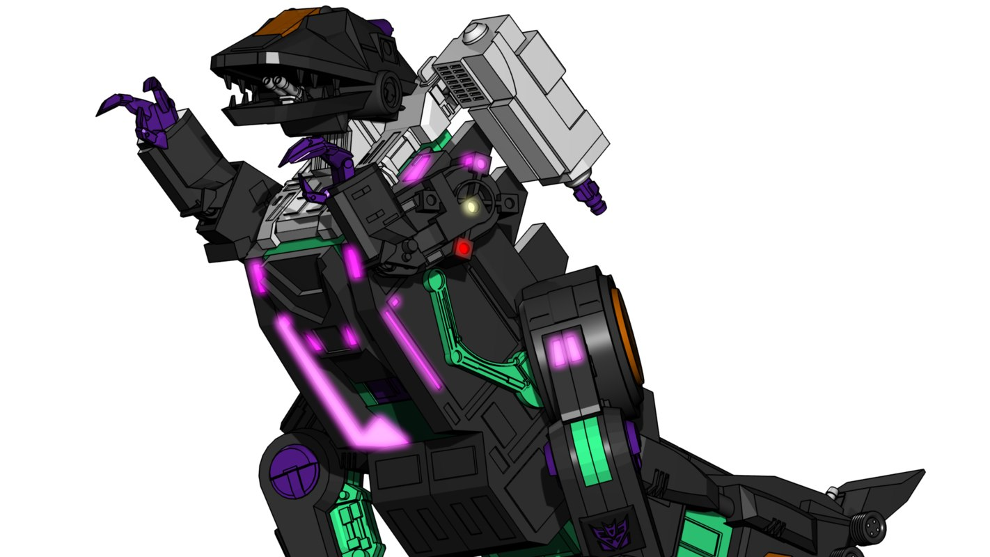 trypticon g1 3d max