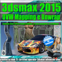 3ds max 2015 UVW Mapping Locked Subscription, un Computer