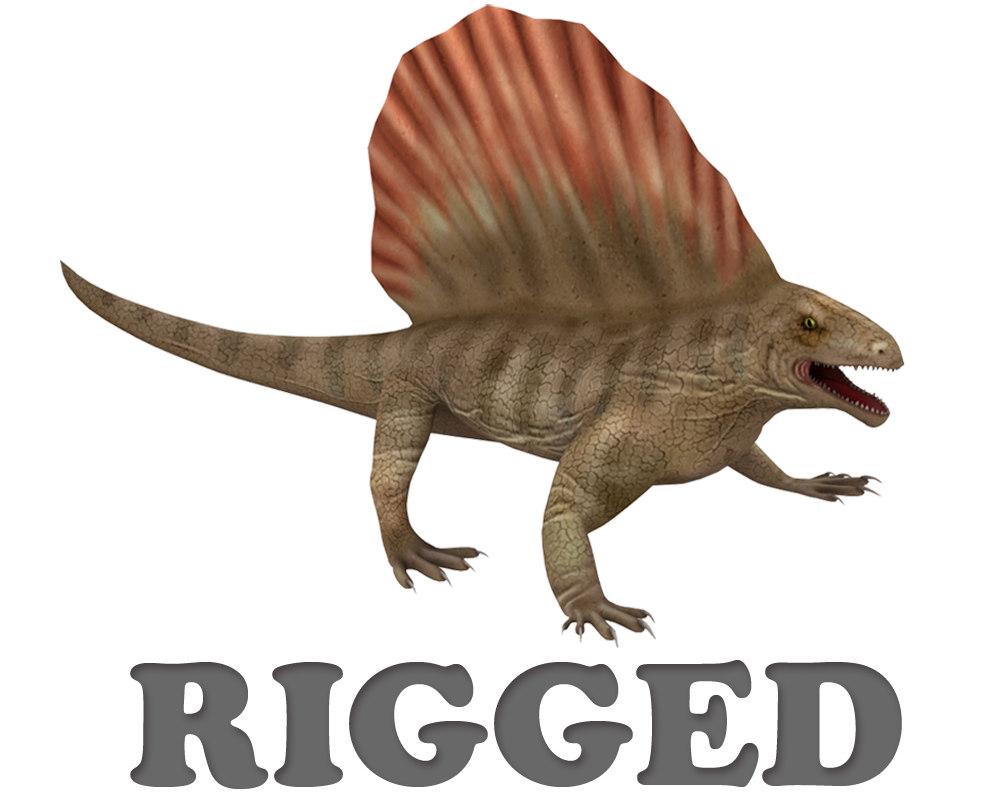 dinosaur reptile 3d max