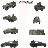 praga 30mm 3d model