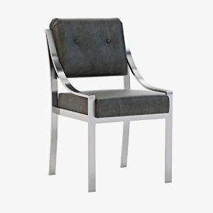 3d model of dining chair savoy