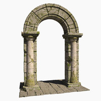 stone arch 3d 3ds