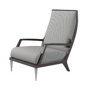 baker jasper lounge 3d model