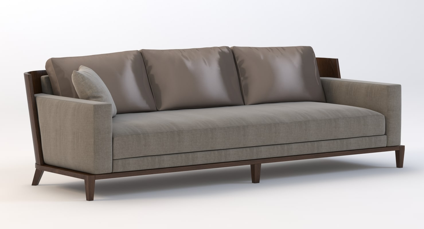 3d sofa christian liaigre