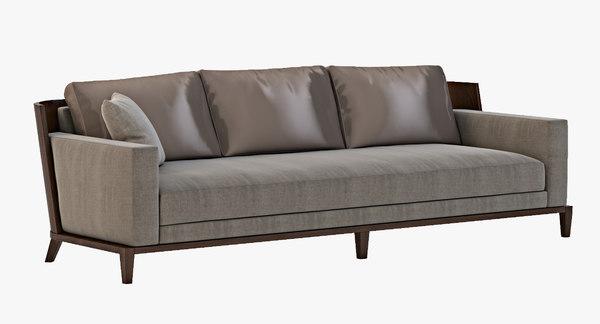 3d sofa christian liaigre