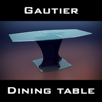 3d 3ds gautier extreme table