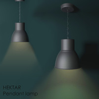 hektar lamp light 3d max