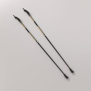 3d walking pole
