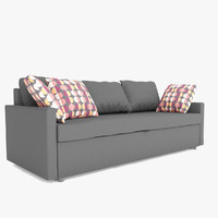 3d fbx sofa pillows