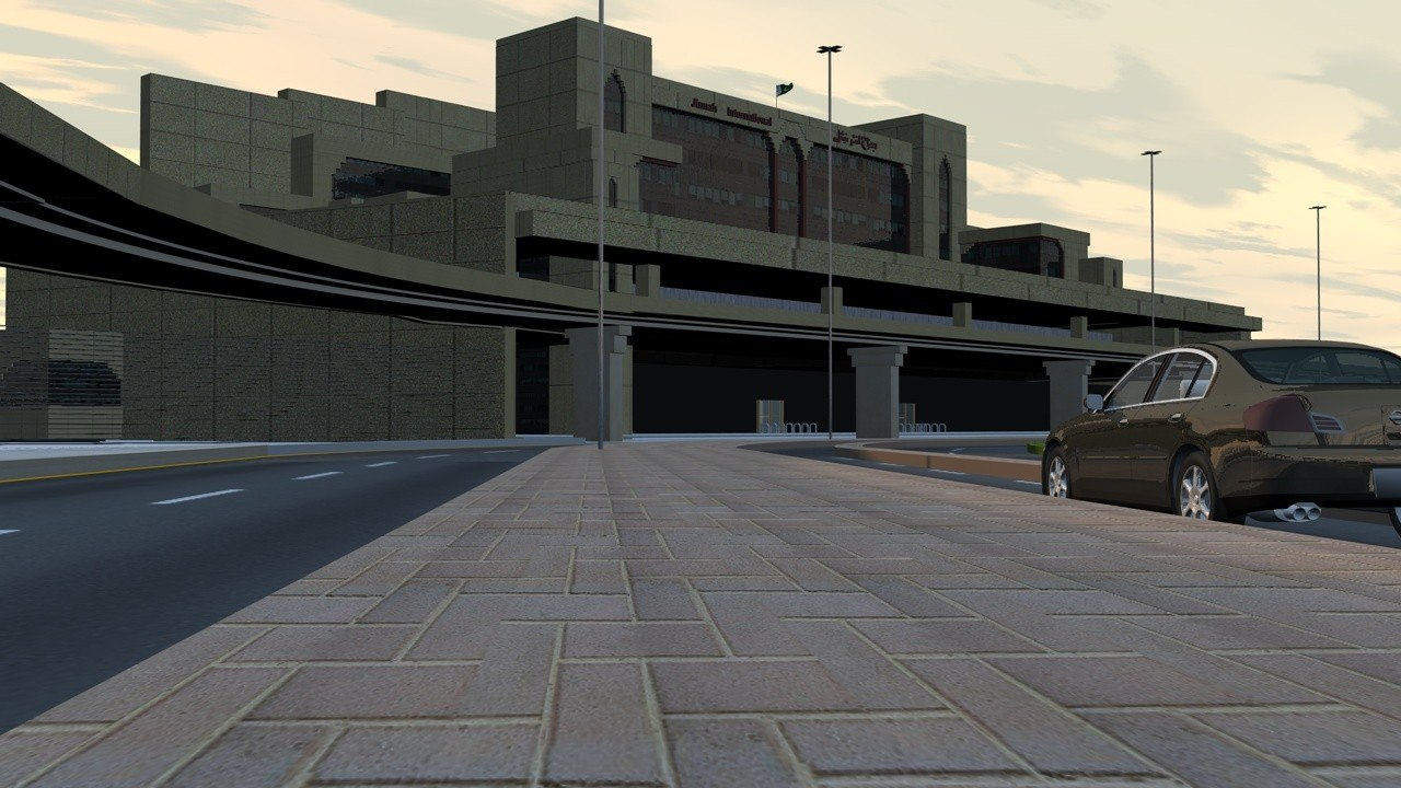 3d karachi airport
