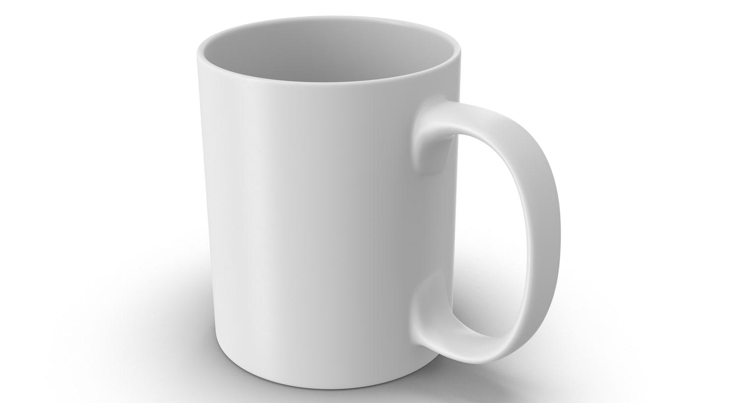 3d model cup