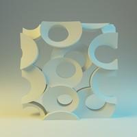 3d blender model