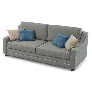 3d estethica sofa model