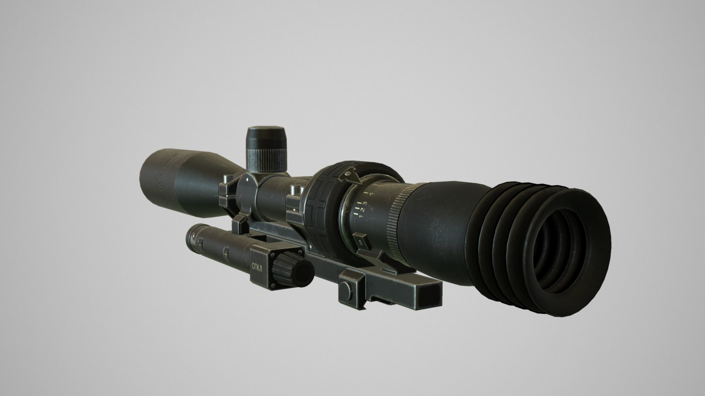 russian sniper scope 1p69 max