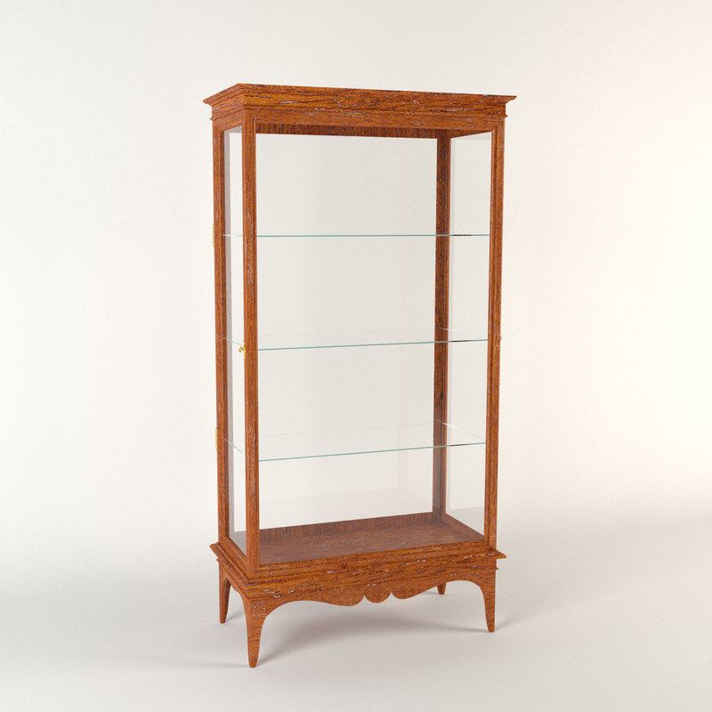 max antique vitrine