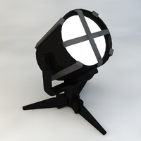 Searchlight Low Poly