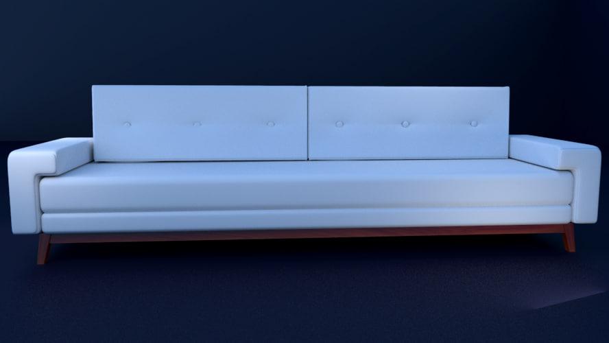 vinetti sofa 3d model