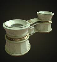 ue4 binocular 3d model