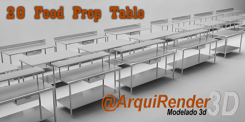 3d gallery tables work