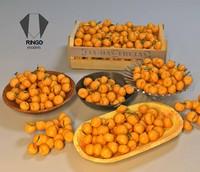 3d model bergamot fruits