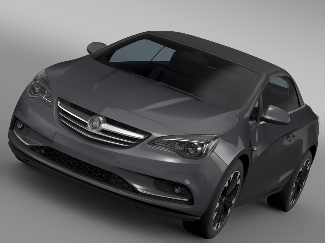 holden cascada turbo 2016 3d model