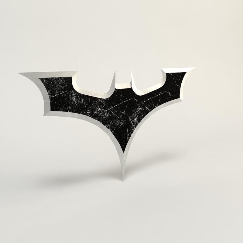 3d model batman gear weapon