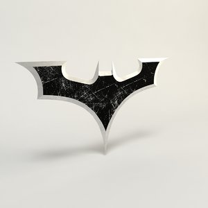 3d model batman gear weapon