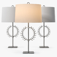 windsor arteriors crete lamp 3ds