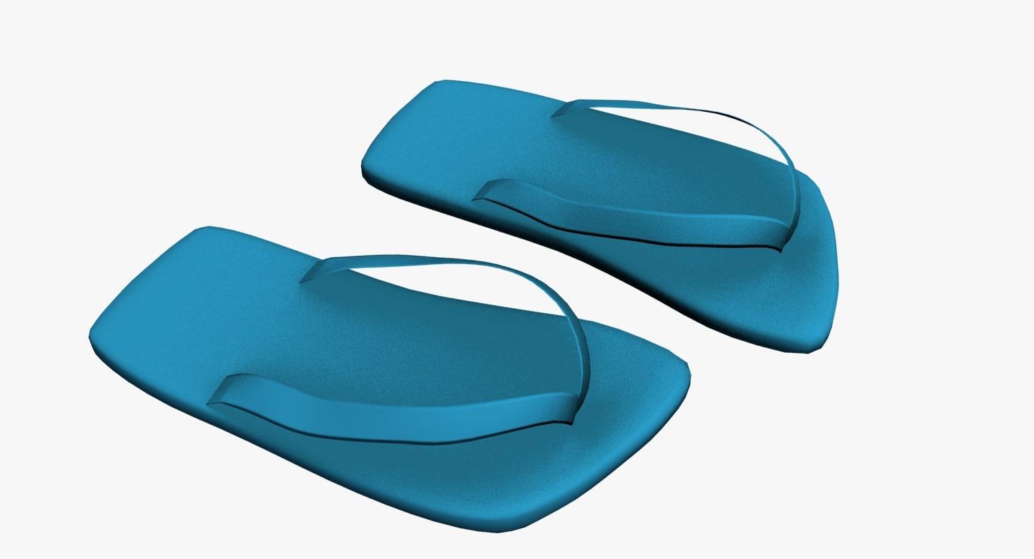 sandals 3d model