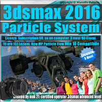 3ds max 2016 Particle System 3 mesi Subscription 1 Computer