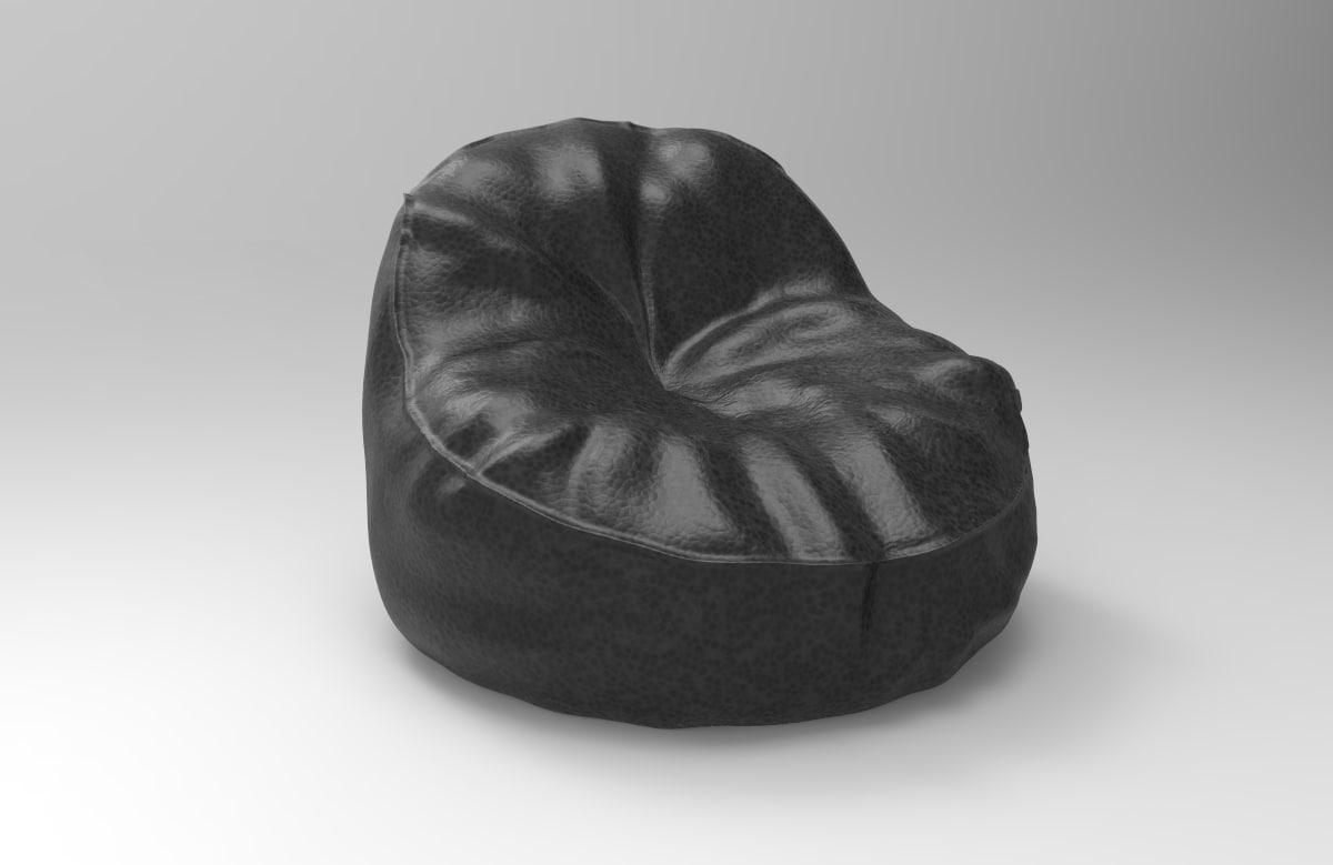 3d bean bag model
