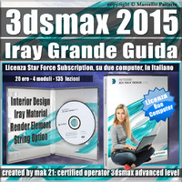 3ds max 2015 Iray La Grande Guida Subscription 2 Computer